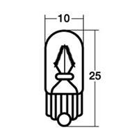 【1個売り】メーターポジション球 WB121 12V1.7W