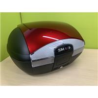 【訳あり】SH45 トップケース 専用カラーパネル取付済 レッド