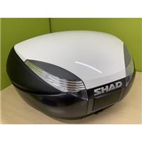 【訳あり】SH48 トップケース 専用カラーパネル取付済 ホワイト